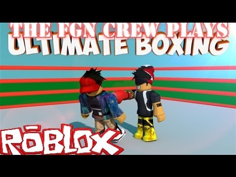 The FGN Crew Plays: Roblox - Ultimate Boxing (PC)