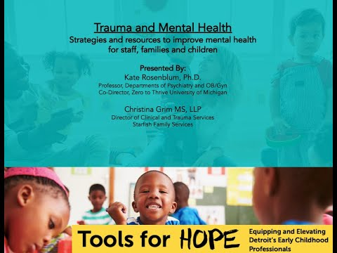 Strategies for Improving the Mental Health of Staff, Students, and Families | Tools for Hope
