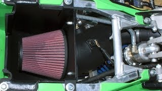4. Fuel Customs Intake KFX450R Test