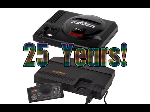 25th - Pat & Ian discuss what the 25th anniversary of the Turbografx-16 and Sega Genesis signifies to them. For more #CUPodcast videos, click here: http://bit.ly/1pOBDVH Listen to the entire podcast...