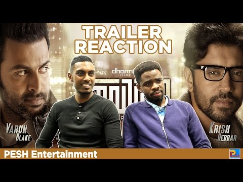 Ivide Trailer Reaction by PESH Entertainment