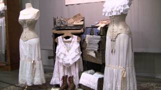 Corsets Victorian To Edwardian - Fountainhead Museum - Fairbanks Alaska -
