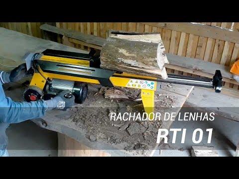 Rachador de lenha elétrico para uso doméstico ou comercial - Lippel RTI 01
