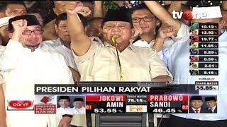 Video Klaim Menang 62% Berdasarkan 'Real Count', Prabowo Takbir dan Sujud Syukur MP3, 3GP, MP4, WEBM, AVI, FLV April 2019