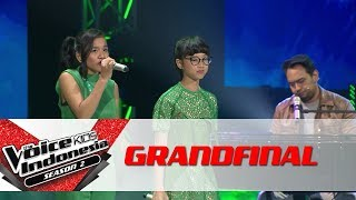 "Video Team Bebi ""Bawalah Cintaku""   Grand Final   The Voice Kids Indonesia Season 2 GTV MP3, 3GP, MP4, WEBM, AVI, FLV April 2018"