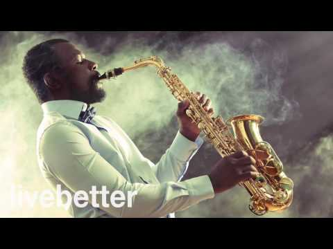Relaxing Saxophone | Jazz Music | Smooth Cafe Background Instrumental Music For Study, Work, Relax