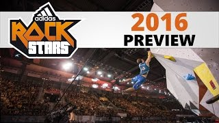 Adidas Rockstars 2016 | Preview by OnBouldering