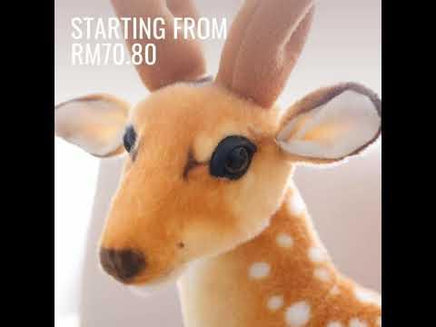 Cute Deer Plush-Toy