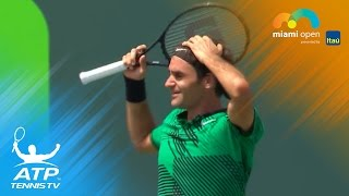 Roger Federer defeated Rafa Nadal in straight sets - his fourth consecutive victory over the Spaniard - to win back-to-back titles in Indian Wells and Miami....