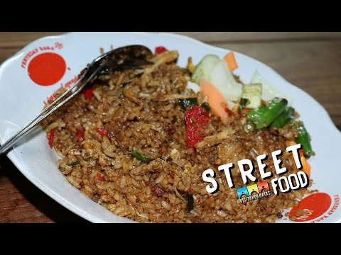 STREET FOOD INDONESIA FRIED RICE/ NASI GORENG