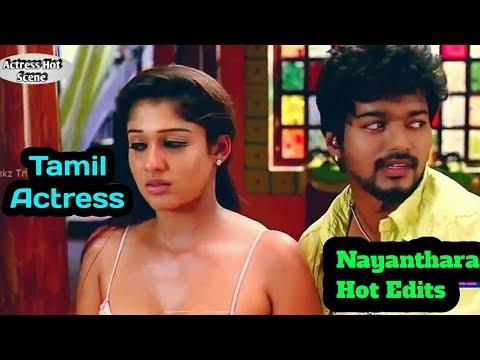 Tamil Actress Nayanthara Hot Navel & Sexy Boobs Romance Video Scene..HD Ultimate Hot Compilation