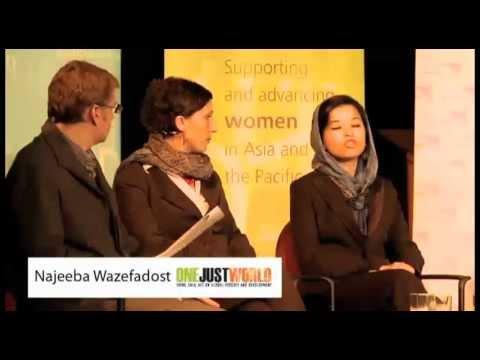 Najeeba Wazefadost on being a refugee