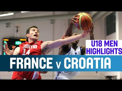 France - Croatia prove too strong for France to win Group B of the U18 European Championship in undefeated fashion. Please subscribe to our YouTube channel (http://www.youtube.com/user/FIBA?sub_confirmatio...