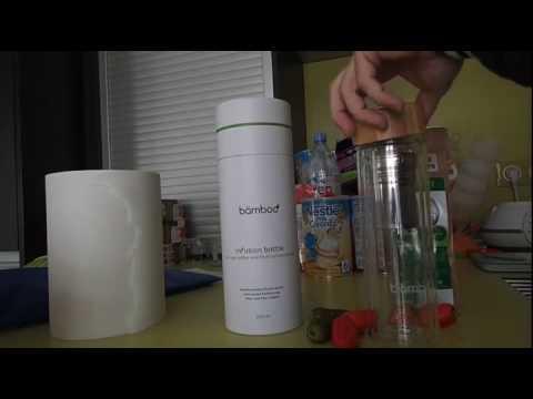 bämboo   Théière infusion avec filtre, Très haut de gamme