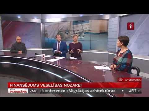 """Veselības ministres Ilzes Viņķeles saruna LTV """"Rīta Panorāma"""" par mediķu protesta akciju un par finansējumu nozarei"""
