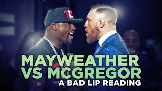 Bad Lip Reading Torches the Mayweather Vs. McGregor Press Conference and It's Comedy Gold