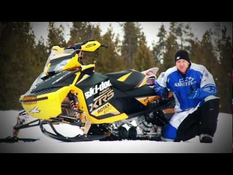 2012 Ski-Doo MXZ XRS Test Ride