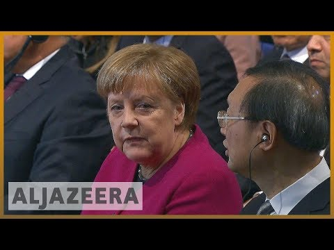 рр Merkel, Pence clash on Iran deal at Munich conference  Al Jazeera English