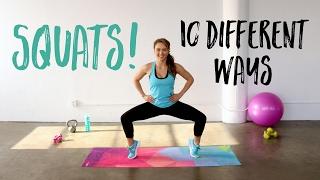 10 Gerakan Squats Untuk Kencangkan Bokong