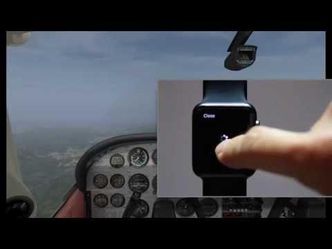 Apple Watch & ForeFlight Demo (FSX)