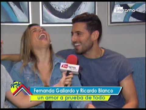 Fernanda Gallarado y Ricardo Blanco un amor a prueba de todo