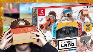 • OHNE LAG: Dulli versucht NINTENDO LABO VR SET im Stream aufzubauen