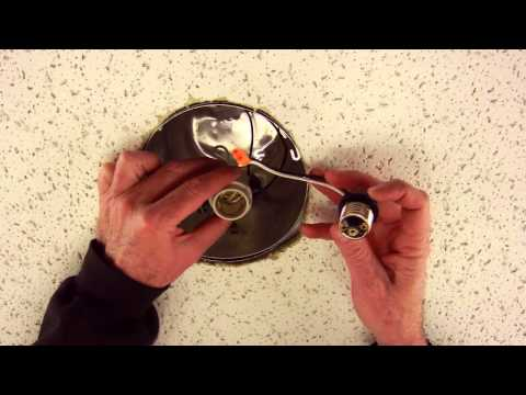 "How to install a LED recessed retrofit trim for 5"" or 6"" recessed housings"