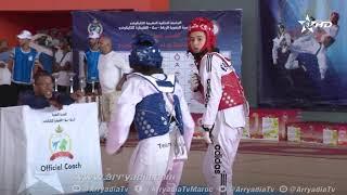 ربورتاج الرياضية|الرباط| المرحلة الإقصائية الثانية للشبان والشابات من بطولة المغرب للتايكوندو