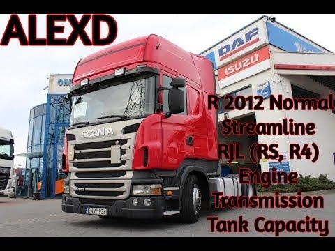 ALEXD Scania R 2012, Streamline & RJL( R4, RS) Engine, Transmission v1.0