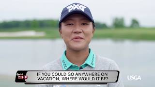 Join us for 9 quick questions with Lydia KoFor daily updates from the United States Golf Association, please visit usga.org.