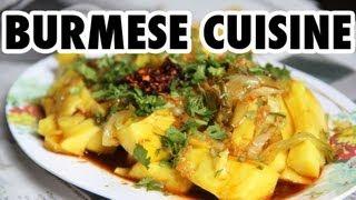 Burmese Cuisine: Authentic Restaurant In Bangkok, Thailand