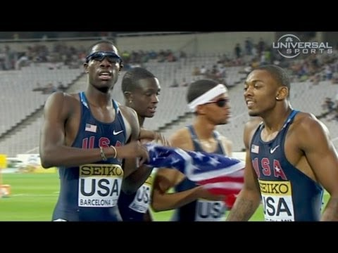 American boys wins 4x400m in Junior Championship - Universal Sports 2012