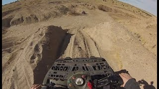 7. Polaris Sportman 110 EFI - hill climbs and TOP SPEED (GoPro)
