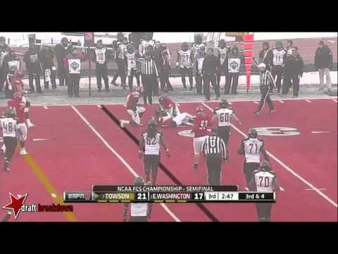 Anthony Larry vs Towson 2013 video.