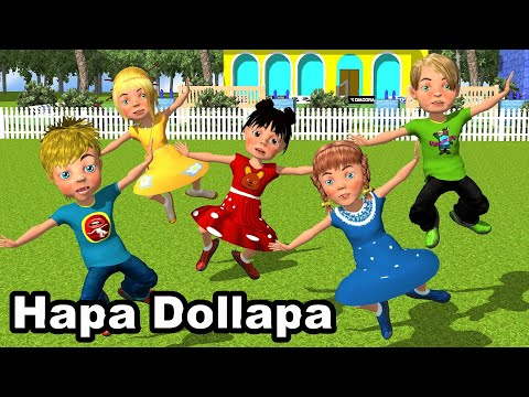 "HAPA DOLLAPA - Kenge per femije - Hide and Seek - Song for children by Studio ""Çamarroket"""