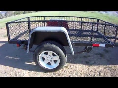 Build a DIY Utility Trailer for $300 - Part 1