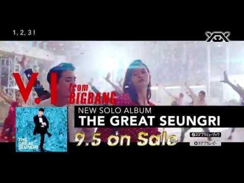 """V.I (from BIGBANG) -  'THE GREAT SEUNGRI' (SPOT 60""""_ALBUM 9.5 on sale) - Thời lượng: 61 giây."""
