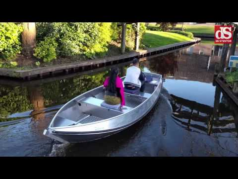 Tourist boating in the Netherlands.