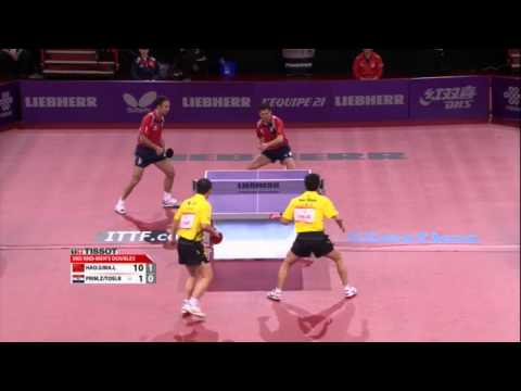 lin - Review all the highlights from the Ma Lin/Hao Shuai vs Zoran Primorac/Roko Tosic Men's Doubles round 2 match at the 2013 World Table Tennis Championships in ...