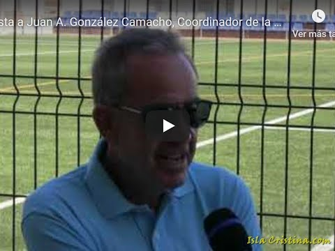 Entrevista a Juan A. González Camacho, Coordinador de la U.D. Punta del Caimán