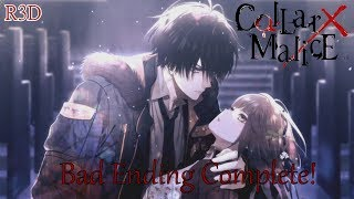 """This is the bad ending playthrough for #Collar X #Malice for the #PSVita. You get a trophy for this one. Don't forget to thumbs up, comment and subscribe for more content. If you would like to buy """"#CollarXMalice"""" and want to help support my channel, then please use this play-asia link to purchase the game: http://www.play-asia.com/collar-x-malice/13/70b4cn?tagid=1338187$3 off Play-Asia Code: R3DAmazon: http://amzn.to/2umosCfPSN Code: http://www.play-asia.com/playstation-network-card-50-usd-usa-account/13/703y13?tagid=1338187PSN Card: http://amzn.to/1IV45elIf you want to buy a great gaming rig, use this link: http://www.originpc.com/?aid=1359Save on PC Games with GreenManGaming: http://www.greenmangaming.com/?tap_a=2283-5d2ea6&tap_s=80135-d628d0Become a Patron: http://www.patreon.com/R3DGamingFollow me on Twitter: http://www.twitter.com/R3DGamingLike me on Facebook: https://www.facebook.com/R3DPlaystationCheck out my Website: http://www.r3dplaystation.wordpress.comIf you want to buy a PS4 and also support my channel, then please use this amazon link: http://amzn.to/1kA6hwpLink for my European fans to get discounted games and PSN codes: http://www.cdkeys.com/?mw_aref=R3DPlaystationFilmer------------------------------------------------------------------------------------------About #CollarX #MaliceMany Paths to the Truth - Elements of choice and trust weave together to form a branching narrative leading to multiple unique endings! Weigh your options carefully and follow your instincts in your quest to restore order to the city!Stalked by Death, Bound by Malice - Put your detective skills to the test! The mysterious and deadly collar attached to your neck holds the key to solving a myriad of sinister secrets. Will you crack the case in time?Mind Bending Narrative with Massive Amounts of Gameplay - Collar X Malice offers intriguing characters, brooding visuals and a gripping story full of mystery guaranteed to keep you coming back for more!A dangerous shadow organizatio"""