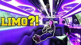 WE ARE IN A LIMO!!!