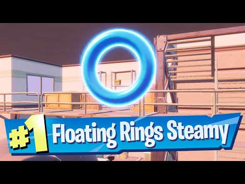 Collect Floating Rings at Steamy Stack Location (All 5!) - Fortnite Chapter 2 Season 4