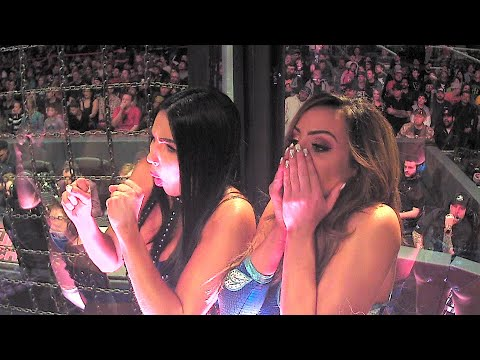 Superstars react to the brutality of the Elimination Chamber