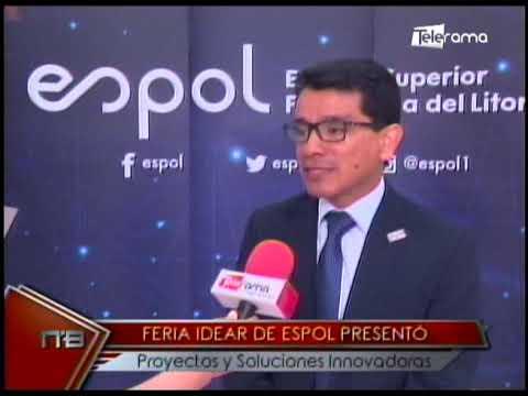 Feria Idear de Espol presentó proyectos y soluciones innovadoras