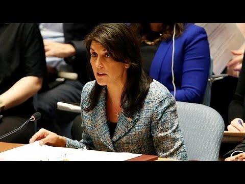 Xέιλι: Oι ΗΠΑ είναι έτοιμες να αναλάβουν δράση στη Γούτα αν χρειαστεί…