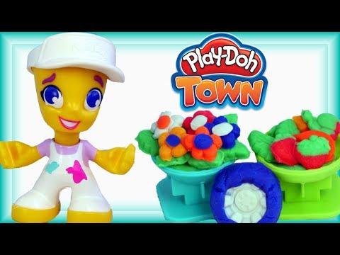 Play Doh Town • Zakupy w Centrum Miasta!!! • bajki i kreatywne zabawy