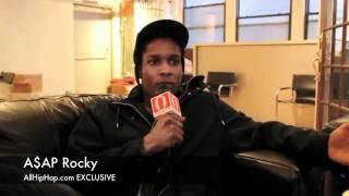 A$AP Rocky Speaks On Odd Future