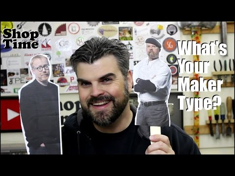 What Type of Maker Are You? (видео)