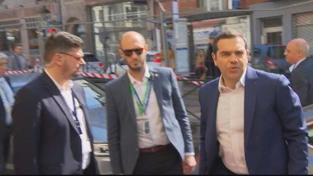 O Aλέξης Τσίπρας στην προσύνοδο των ηγετών του Ευρωπαϊκού Σοσιαλιστικού Κόμματος PES